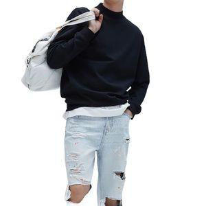 Zara Mens Paint Splatter Loose Fit Jeans Sz 30